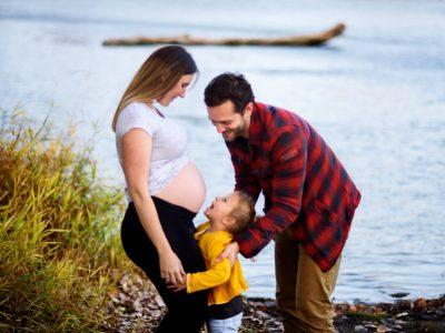 Pri, Edu & Lia - Maternity Session