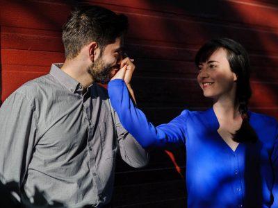 Valérie+Nikos - séance de fiançailles
