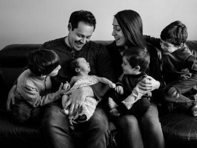 Marie-Joëlle + Emmanuel - séance famille